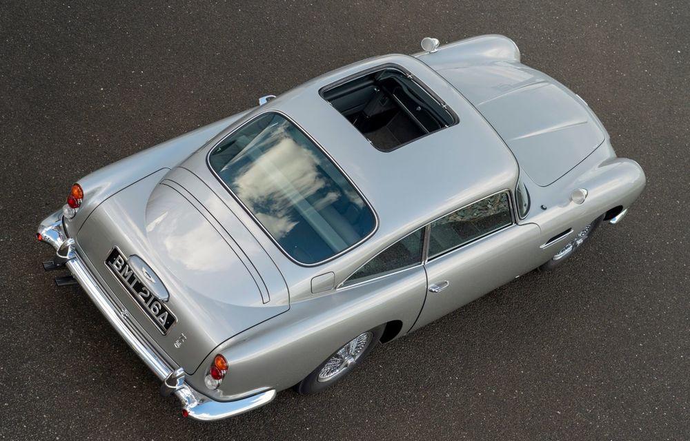 Aston Martin a produs primul exemplar din seria DB5 Goldfinger Continuation: ediția va fi limitată la 25 de unități și are un preț de peste 3 milioane de euro - Poza 6