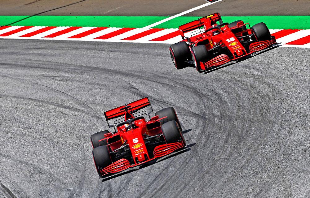 """Ferrari admite că motorul este principala cauză a lipsei de performanță din Austria: """"Va fi foarte dificil, motoarele sunt înghețate în acest sezon"""" - Poza 1"""