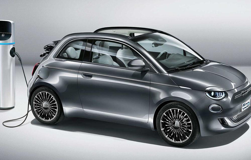 Fiat dă startul comenzilor pentru 500 electric cabrio: modelul electric are 120 de cai putere și autonomie de 320 de kilometri - Poza 1