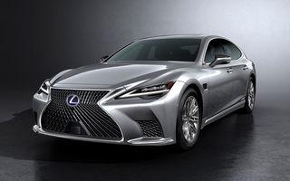 Lexus a prezentat LS facelift: mici modificări de design și suspensii îmbunătățite