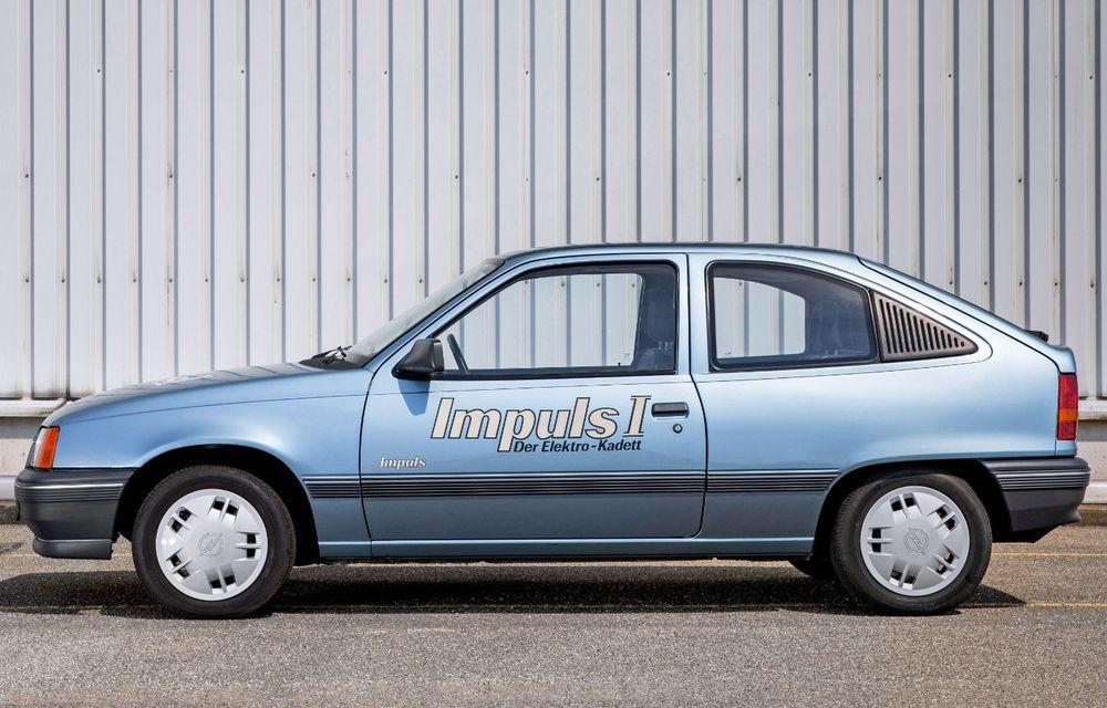 Strămoșul lui Opel Corsa-e: nemții aniversează 30 de ani de la debutul vehiculului experimental Kadett Impuls I - Poza 3