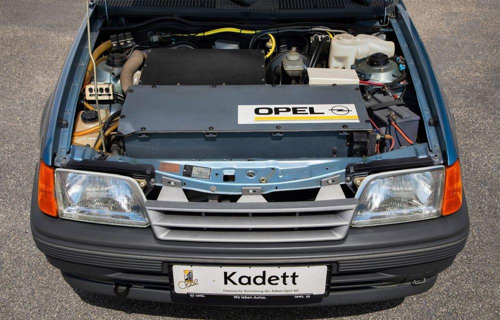 Strămoșul lui Opel Corsa-e: nemții aniversează 30 de ani de la debutul vehiculului experimental Kadett Impuls I - Poza 6