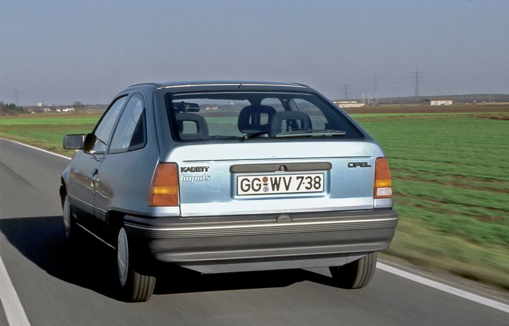 Strămoșul lui Opel Corsa-e: nemții aniversează 30 de ani de la debutul vehiculului experimental Kadett Impuls I - Poza 4