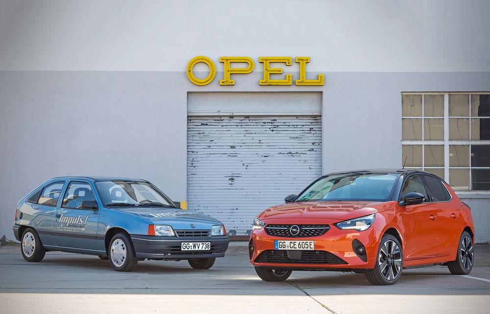 Strămoșul lui Opel Corsa-e: nemții aniversează 30 de ani de la debutul vehiculului experimental Kadett Impuls I - Poza 1