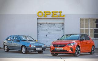 Strămoșul lui Opel Corsa-e: nemții aniversează 30 de ani de la debutul vehiculului experimental Kadett Impuls I