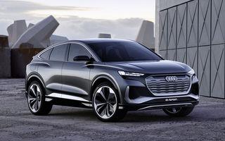 Audi Q4 Sportback e-tron Concept anunță un nou SUV electric în gama germanilor: peste 500 de km autonomie și 306 CP