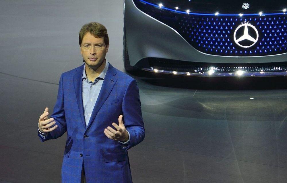 """Șeful Daimler, criticat de un acționar pentru """"un an pierdut"""": """"Mercedes EQC a fost lansat prea târziu, este prea scump și plictisitor"""" - Poza 1"""
