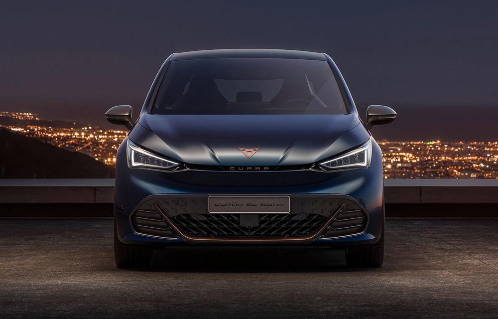 Cupra el-Born, primul model electric al diviziei de performanță: autonomie de până la 500 de kilometri și 0-50 km/h în 2.9 secunde - Poza 2