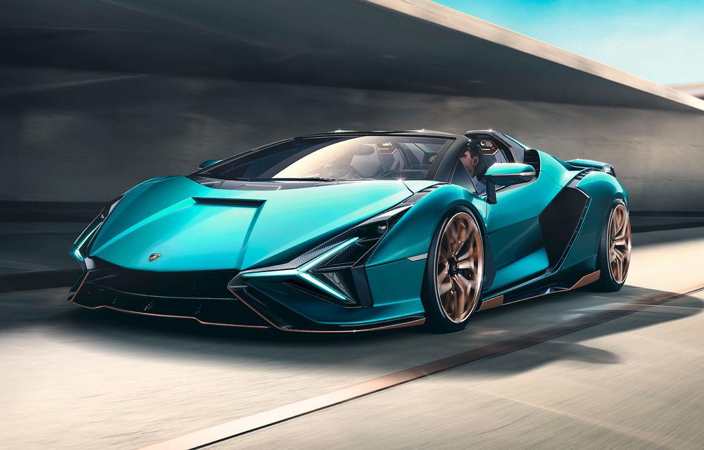 Lamborghini a prezentat noul Sian Roadster: hypercar-ul cu sistem mild-hybrid și 819 CP va fi limitat la 19 unități - Poza 1