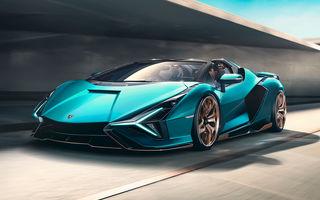 Lamborghini a prezentat noul Sian Roadster: hypercar-ul cu sistem mild-hybrid și 819 CP va fi limitat la 19 unități