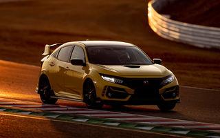 Honda Civic Type R Limited, cel mai rapid model de serie cu roți motrice față de pe Suzuka: Hot Hatch-ul nipon a doborât timpul stabilit de Renault Megane RS Trophy-R