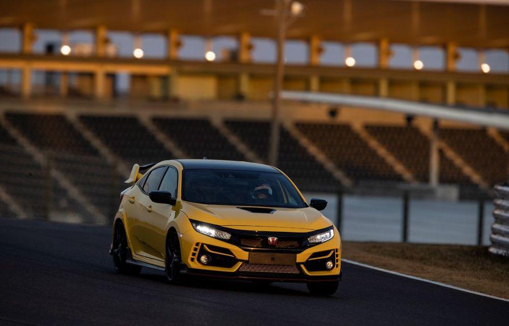 Honda Civic Type R Limited, cel mai rapid model de serie cu roți motrice față de pe Suzuka: Hot Hatch-ul nipon a doborât timpul stabilit de Renault Megane RS Trophy-R - Poza 3