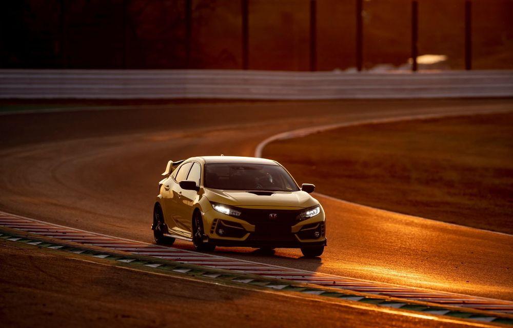 Honda Civic Type R Limited, cel mai rapid model de serie cu roți motrice față de pe Suzuka: Hot Hatch-ul nipon a doborât timpul stabilit de Renault Megane RS Trophy-R - Poza 2