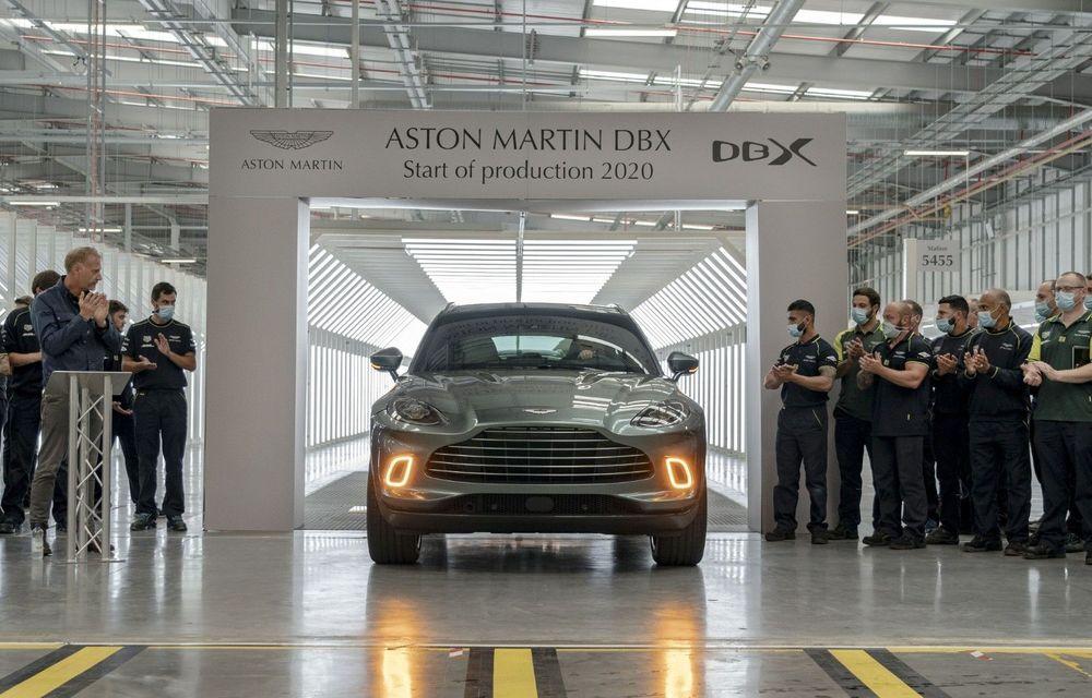 Aston Martin DBX a intrat în producție: primele livrări vor începe în luna iulie - Poza 1