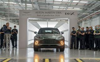 Aston Martin DBX a intrat în producție: primele livrări vor începe în luna iulie