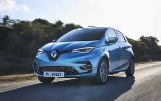 Renault domină vânzările de mașini electrice din România: cotă de piață de 44% în primele 6 luni, cu 255 de unități în dreptul lui Zoe