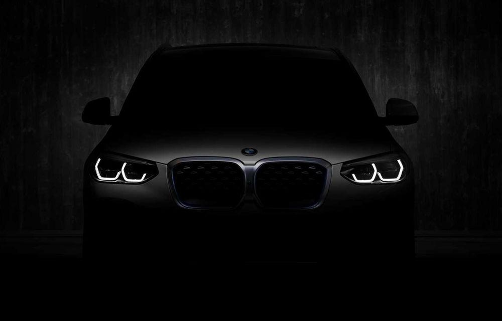 Update: Un nou teaser pentru BMW iX3: SUV-ul electric va fi prezentat oficial în 14 iulie - Poza 2