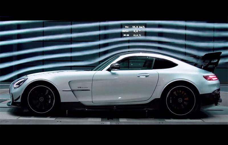 Fără camuflaj: primul clip oficial cu noul Mercedes-AMG GT Black Series - Poza 1