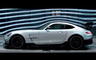 Fără camuflaj: primul clip oficial cu noul Mercedes-AMG GT Black Series