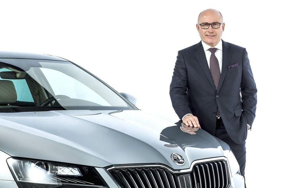 Grupul VW schimbă conducerea la Skoda: CEO-ul Bernhard Maier va părăsi compania după 5 ani - Poza 1