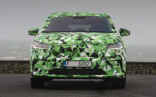 Video. Skoda Enyaq iV, surprins în timpul testelor: producția SUV-ului electric va începe la sfârșitul acestui an