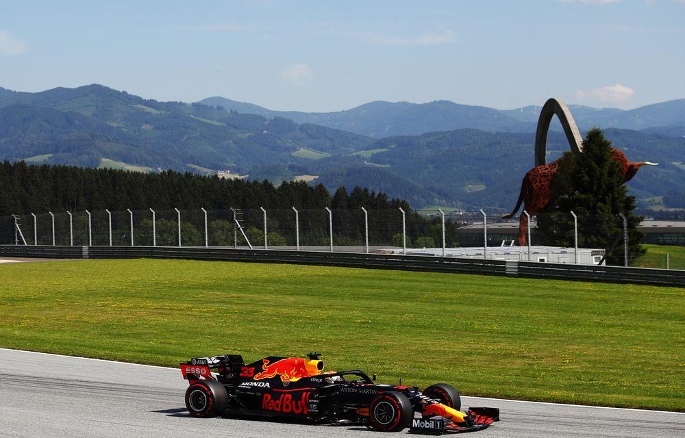 Perez și Verstappen, cei mai rapizi în antrenamentele de vineri din Austria: formă bună pentru Racing Point și Red Bull - Poza 1