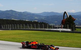 Perez și Verstappen, cei mai rapizi în antrenamentele de vineri din Austria: formă bună pentru Racing Point și Red Bull