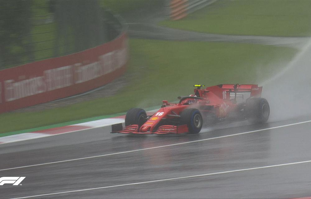 Hamilton, pole position pe ploaie în Austria! Verstappen, locul doi în fața lui Sainz după un derapaj în ultimul tur rapid - Poza 3