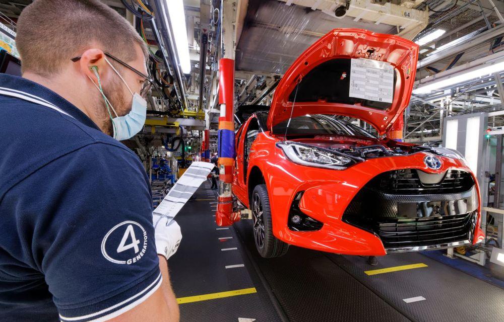 Toyota a început producția noii generații Yaris: modelul de clasă mică este asamblat la Valenciennes - Poza 4