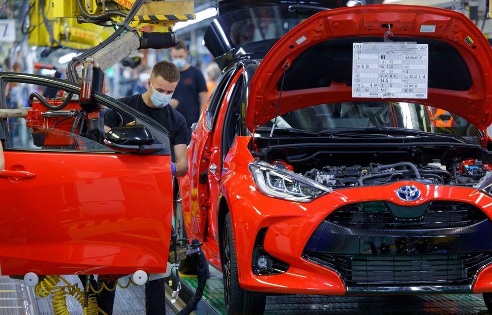 Toyota a început producția noii generații Yaris: modelul de clasă mică este asamblat la Valenciennes - Poza 2