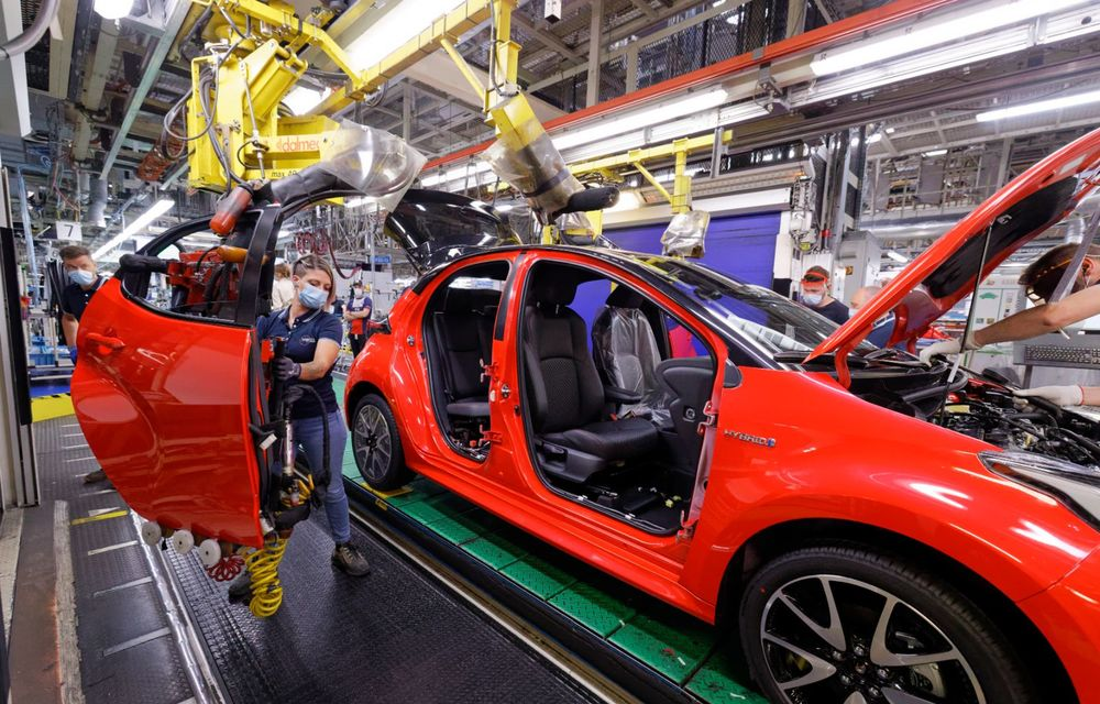 Toyota a început producția noii generații Yaris: modelul de clasă mică este asamblat la Valenciennes - Poza 3