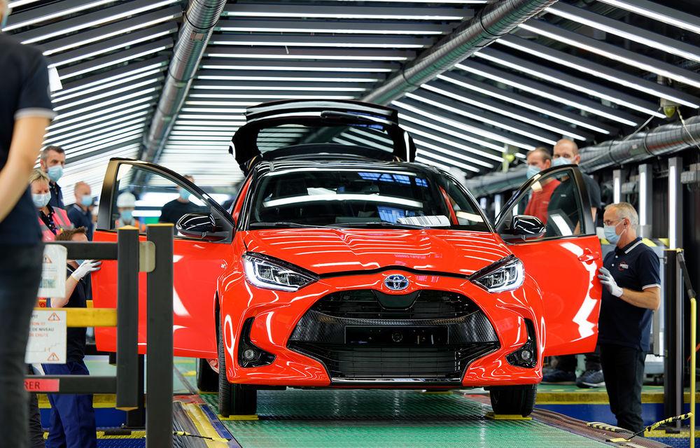 Toyota a început producția noii generații Yaris: modelul de clasă mică este asamblat la Valenciennes - Poza 1