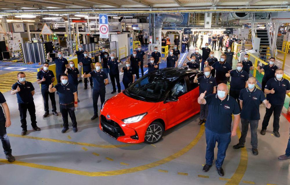 Toyota a început producția noii generații Yaris: modelul de clasă mică este asamblat la Valenciennes - Poza 5