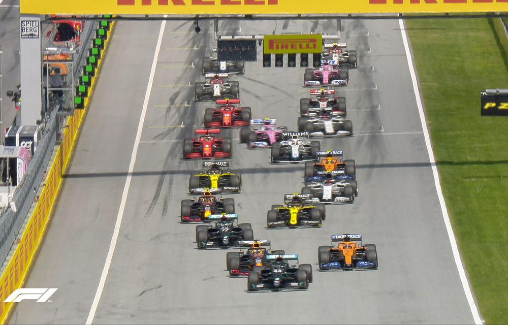 Hamilton a câștigat cursa din Austria! Bottas, locul doi după ce l-a depășit pe final pe Verstappen - Poza 2