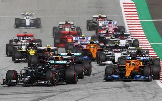 Hamilton a câștigat cursa din Austria! Bottas, locul doi după ce l-a depășit pe final pe Verstappen