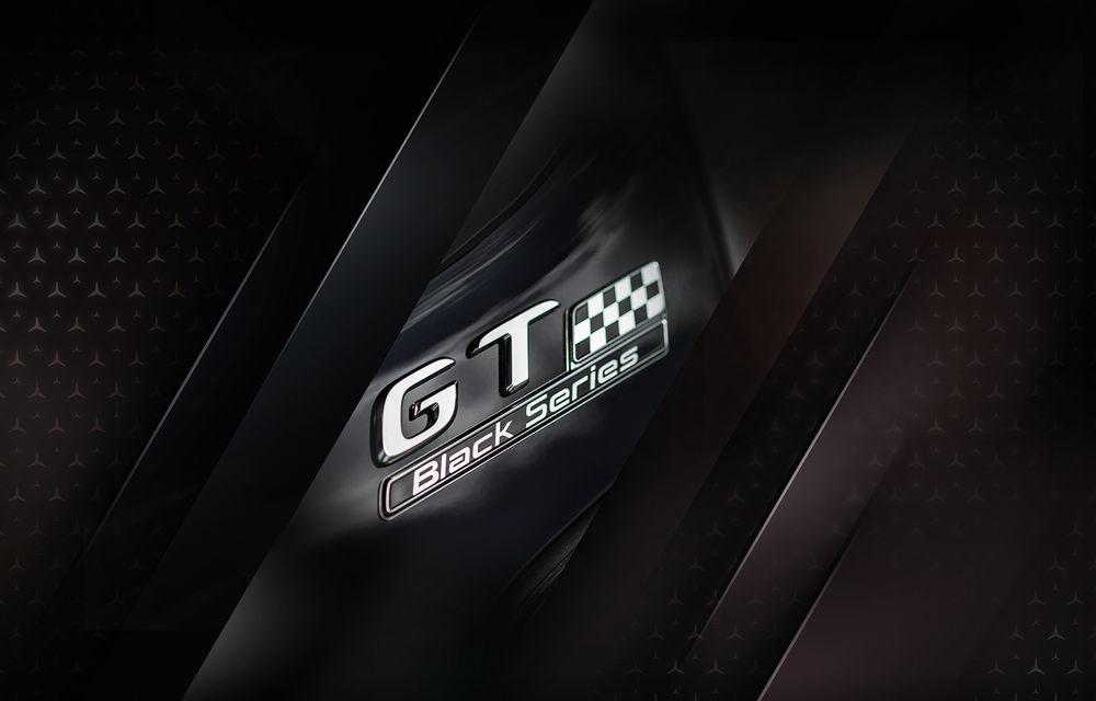Oficial: viitorul Mercedes-AMG GT Black Series va avea 730 de cai putere - Poza 1