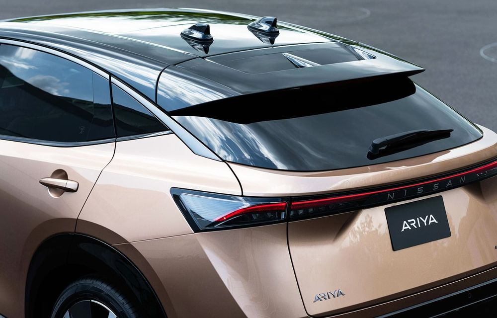 Nissan a prezentat noul Ariya: primul crossover coupe electric al companiei va avea cinci versiuni și autonomie de până la 500 de kilometri - Poza 20