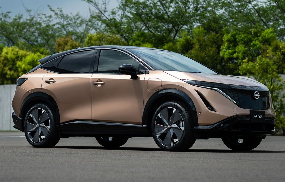 Nissan a prezentat noul Ariya: primul crossover coupe electric al companiei va avea cinci versiuni și autonomie de până la 500 de kilometri - Poza 16