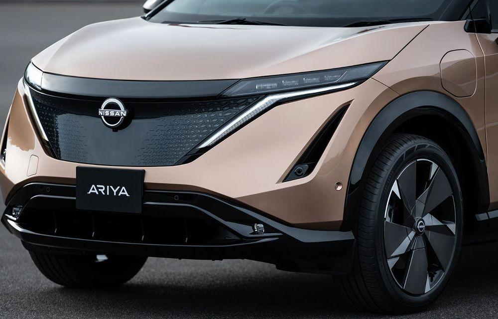 Nissan a prezentat noul Ariya: primul crossover coupe electric al companiei va avea cinci versiuni și autonomie de până la 500 de kilometri - Poza 18