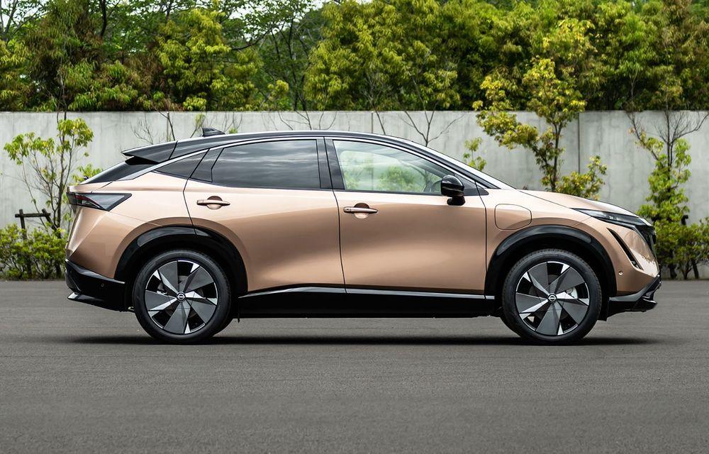 Nissan a prezentat noul Ariya: primul crossover coupe electric al companiei va avea cinci versiuni și autonomie de până la 500 de kilometri - Poza 14