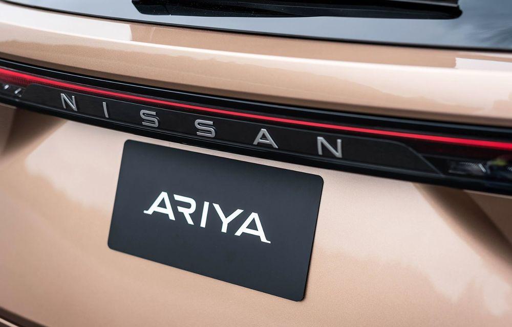 Nissan a prezentat noul Ariya: primul crossover coupe electric al companiei va avea cinci versiuni și autonomie de până la 500 de kilometri - Poza 21