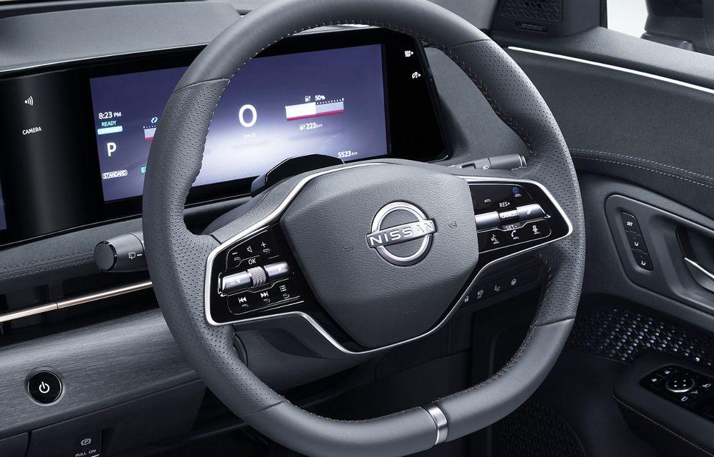 Nissan a prezentat noul Ariya: primul crossover coupe electric al companiei va avea cinci versiuni și autonomie de până la 500 de kilometri - Poza 38