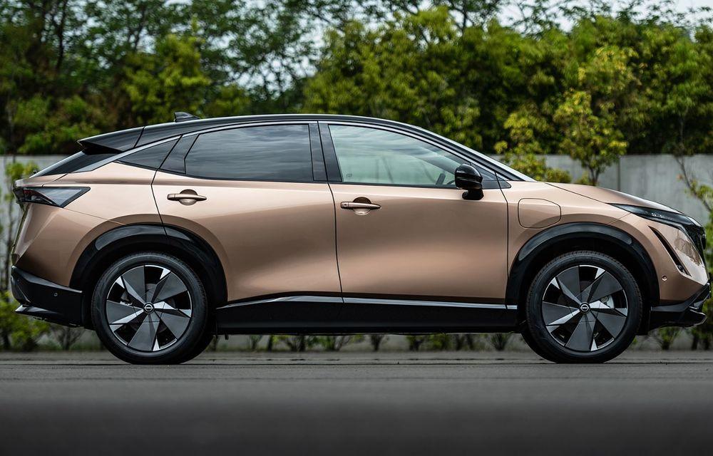 Nissan a prezentat noul Ariya: primul crossover coupe electric al companiei va avea cinci versiuni și autonomie de până la 500 de kilometri - Poza 15