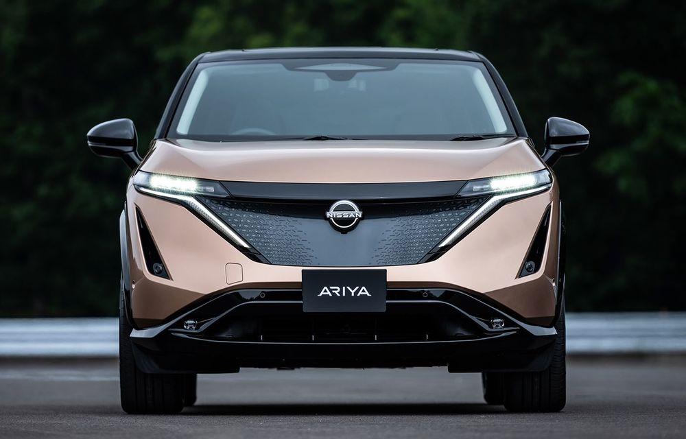 Nissan a prezentat noul Ariya: primul crossover coupe electric al companiei va avea cinci versiuni și autonomie de până la 500 de kilometri - Poza 5
