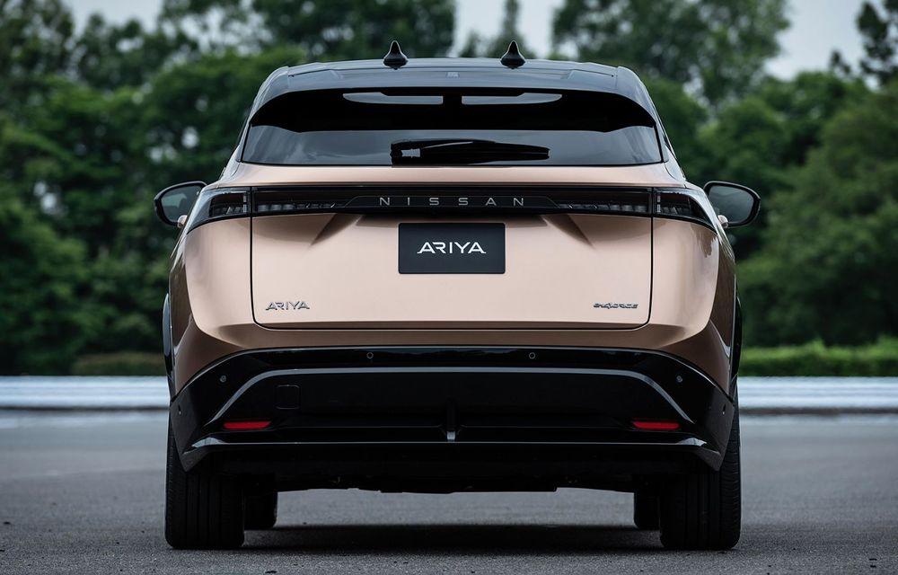 Nissan a prezentat noul Ariya: primul crossover coupe electric al companiei va avea cinci versiuni și autonomie de până la 500 de kilometri - Poza 8