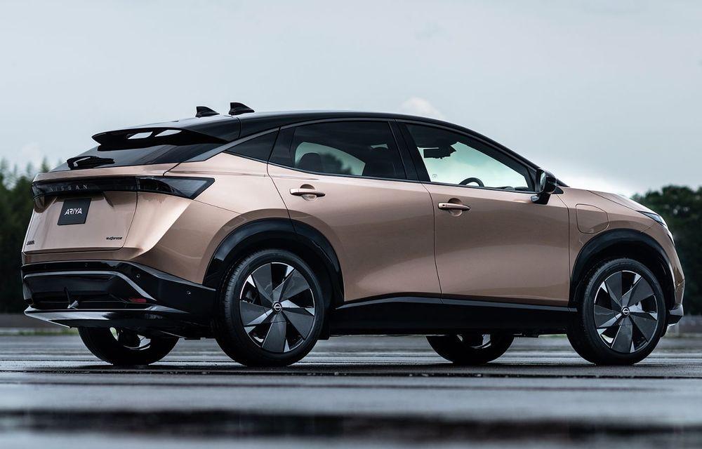 Nissan a prezentat noul Ariya: primul crossover coupe electric al companiei va avea cinci versiuni și autonomie de până la 500 de kilometri - Poza 10