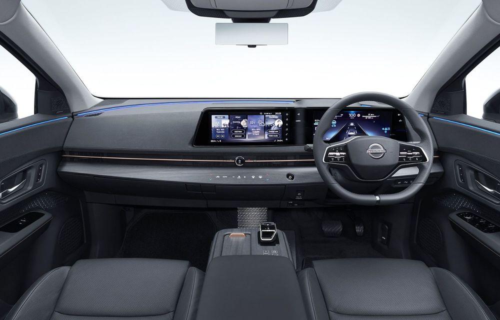 Nissan a prezentat noul Ariya: primul crossover coupe electric al companiei va avea cinci versiuni și autonomie de până la 500 de kilometri - Poza 31