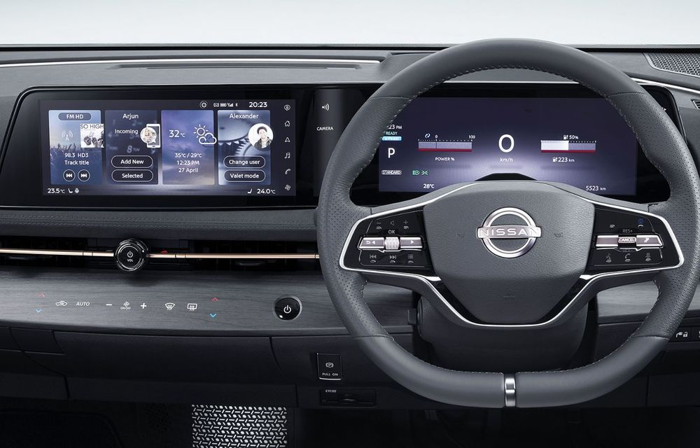 Nissan a prezentat noul Ariya: primul crossover coupe electric al companiei va avea cinci versiuni și autonomie de până la 500 de kilometri - Poza 37