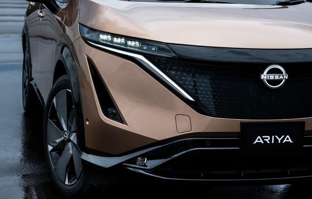 Nissan a prezentat noul Ariya: primul crossover coupe electric al companiei va avea cinci versiuni și autonomie de până la 500 de kilometri - Poza 19