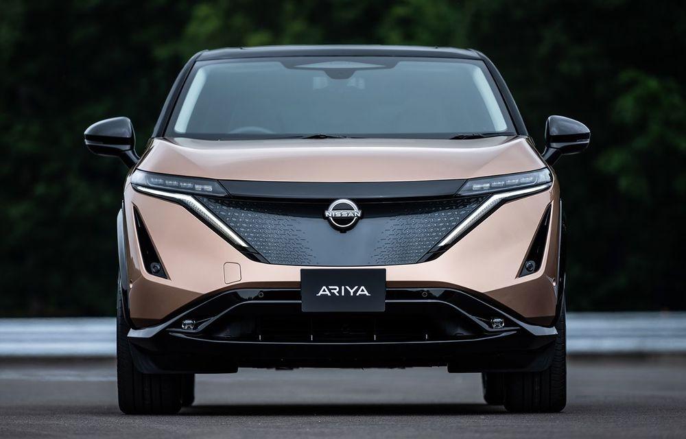 Nissan a prezentat noul Ariya: primul crossover coupe electric al companiei va avea cinci versiuni și autonomie de până la 500 de kilometri - Poza 6
